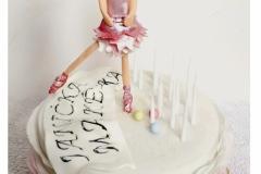 BALETKA ...bezlepkový dortík